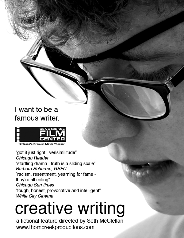 Creative Writing Seth McClellan poster